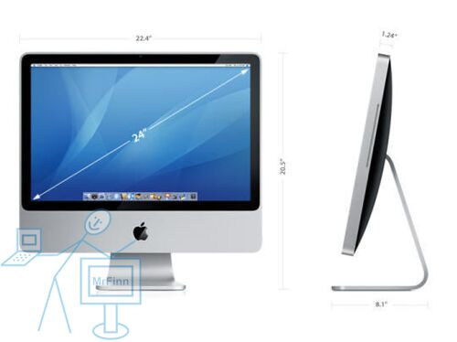 Apple iMac 8.1 24inch (MB398LL, Early 2008)