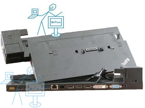 Док-станция Lenovo ThinkPad Ultra Dock S4